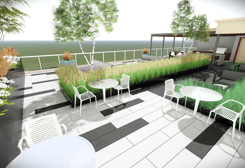 Rooftop patio 4 - Shaver