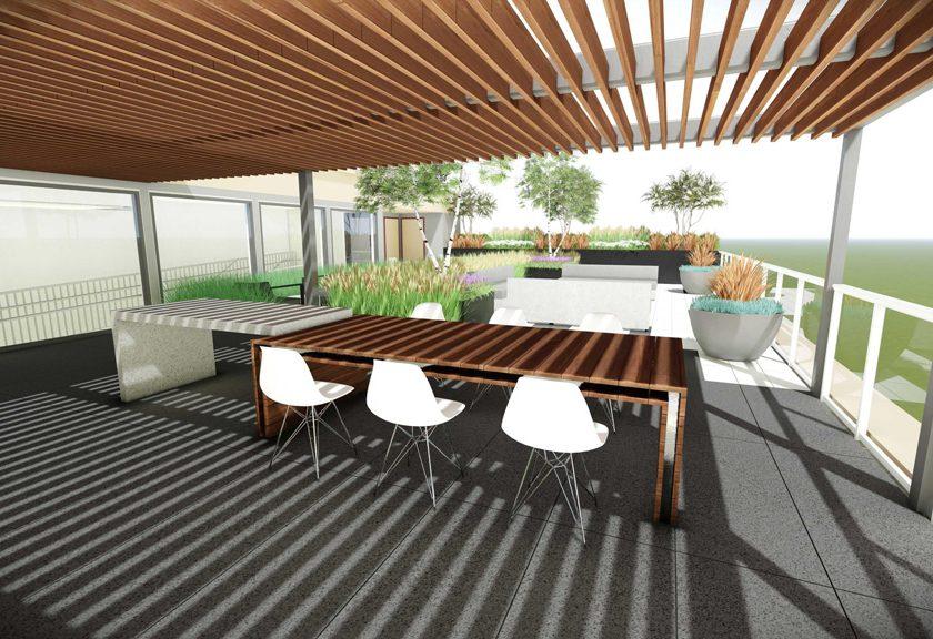 Rooftop patio 3 - Shaver